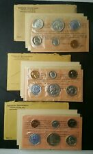 1961, 1962, and 1963 United States Mint Proof Sets