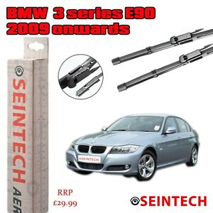 "BMW 3 SERIES E90 2009 ONWARDS SPECIFIC FIT FRONT WINDSCREEN WIPER BLADES 24""18"""