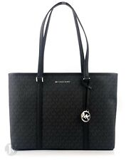 Michael Kors Women's Sady Carryall Shoulder Bag - Black Pvc