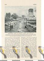 Kiu-Kiang, Ruins, China, Book Illustration c1920
