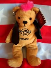 HRC Hard Rock Cafe Venice Venedig Punk Bear Mohawk 2010 Pink Hair Herrington