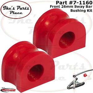 Prothane 7-1160 Front 26mm Sway Bar Bushing Kit for 87-96 Chevy Cavalier/Beretta