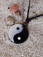 CATENA mare collage Yin Yang madreperla collana gioielli tendenza Conchiglia