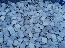 LOT 1 kilo MOSAIQUE TESSELLES EMAUX DE BRIARE pate de verre mix gris LOIRET 45