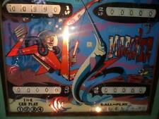 "Ballys ""Mariner"" Four Player Pinball Machine Project 1972 Watch Video."