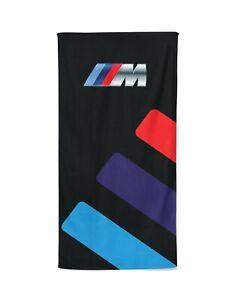 BMW M Power Sport Beach Towel, Gift Bath Towel, Travel, Gym Pool, Car Towels