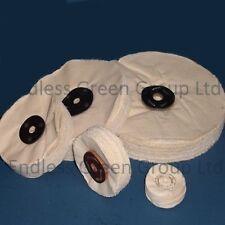 """Loose Leaf Coton Roue de polissage-Polissage Mop 8"""" x 1.5"""" 200 x 40 mm L200/120"""