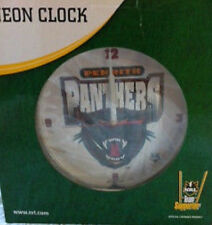 NRL PENRITH PANTHERS NEON CLOCK