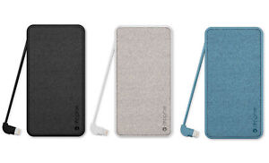 mophie Powerstation Plus 6000mAh Built-In Lightning Cable Apple/USB Device