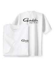 Gamakatsu Logo Pocket T-Shirt Cotton Fishing Hook Apparel Short Sleeve Shirt