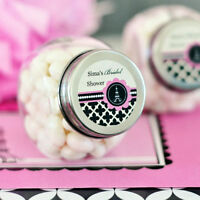 48 Parisian Paris Theme Party Bridal Wedding Personalized Candy Jars Favors Lot