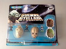 Vintage   Galoob - Star Wars - Guerre Stellari - Mini Head Moc