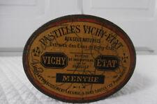 Ancienne boite métal Pastilles Vichy-État / Old box French