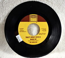 The Miracles-That's What Love/Would I - Motown Record1964 /Tamla T-54102 45 RPM