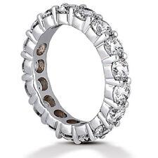 16 x 0.25 ct, F-G Vs/Si1 size 5 4 ct Round Diamond Eternity ring Platinum Band