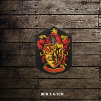 Harry Potter Gryffindor Movie Comics Embroidered Iron On Sew On Patch Badge