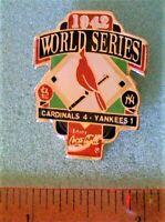Baseball Pin - St. Louis Cardinals World Series 1942 Coca-Cola 1992 (style A)