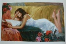 """Russian Vladimir Volegov """"Lost in a Tale""""  Embellished Canvas,  S/N  with a COA"""