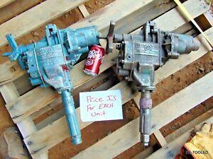(1) POWER VANE DRILL AIR PNEUMATIC COMPRESSOR DRILL Chicago Pneumatic Tool 327