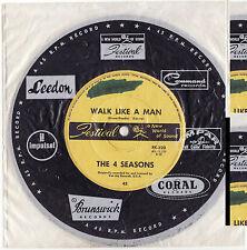 THE FOUR SEASONS - WALK LIKE A MAN Very rare 1963 Aussie POP Single Release!