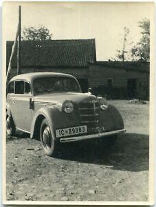Orig. Foto AUTO 1936er OPEL KADETT Kennz. IC 89883 Straße