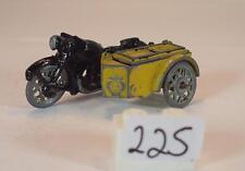 Benbros Morestone ca. 1/66 Nr. 3 Motorcycle AA Motorrad mit Beiwagen #225