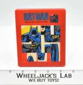 Batman Slider Puzzle DC Comics 1978 American Publishing Corp.