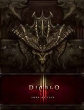 NEW Diablo III Book of Cain by Deckard Cain (2012 Hardcover) Cover slip included