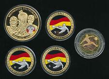 Fußball Medaillen aus Kupfer
