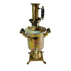 Antique Brass Russian Samovar Urn Teapot Kettle 19th Century 13