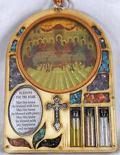 Ikone Ikona Russian Greek Orthodox icons Wandbehang Uhr wood letzte Abendmahl