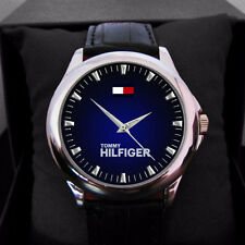 Tommy Hilfiger logo watch Men Or women leacher custom new