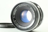 【Exc+++】 OLYMPUS F Zuiko Auto-S 38mm f1.8 Lens for Pen F FT from JAPAN #124