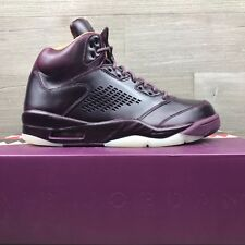 Air Jordan 5 V Retro Premium Bordeaux Wine Pinnacle 881432-612 Men's Size 9.5