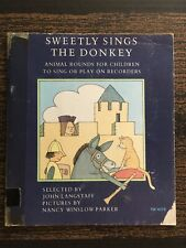 Sweetly Sings the Donkey by Langstaff/Parker