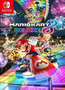 Mario Kart 8 Deluxe Nintendo switch (Lire L'annonce)