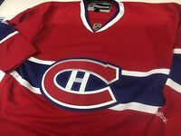 NEW MENS REEBOK MONTREAL CANADIENS HOCKEY JERSEY-VARIOUS SIZES