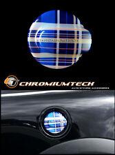 MK2 BMW MINI COOPER S/SD JCW GP R55 R56 Tratteggio Blu Tartan Serbatoio Tappo Di Copertura