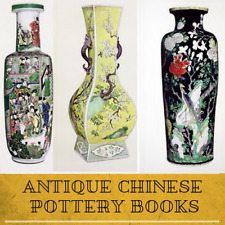 ANTIQUE CHINESE POTTERY & PORCELAIN - VASE PLATE FIGURINE 78 Rare Books Data DVD