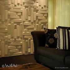 """3D Wall Panels """"Bricks"""" - Box of 12 ( 32.29 sqft )- FREE SHIPPING buy 2 Boxes"""