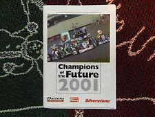 2001 BUCKMORE PARK PROGRAMME 21/7/01 - MSA KARTS - SIGNED BY GARY PAFFETT