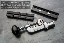 "Tube Beading Tool  With V-Block, 1/4"" &  5/16"", Free Worldwide Shipping , USA"