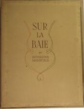 MANSFIELD K., SUR LA BAIE (illustré par R. Arnould, un des 20 hors-commerce)