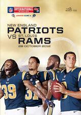 2012 - NFL AT WEMBLEY- NEW ENGLAND PATRIOTS v ST LOUIS RAMS