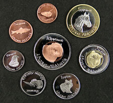 Abkhazia Coins Set of 8 Pieces 2013 UNC