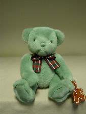 Gund - Gund Classic Teddy Bear Holding Gingerbread Ornament from 1997