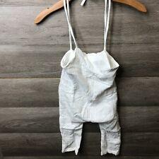 Yoli & Otis Girls Size 2Y White Loose Fit Henry Jumpsuit NEW