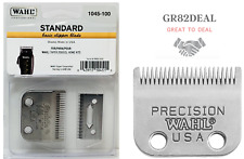 Wahl 1045-100 Replacement Basic Clipper Blade Set 2 Hole Precision Clipper NEW