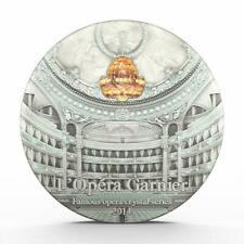Palau 2014 10$ Famous Opera Crystal Series Paris Garnier 2 Oz Proof Silver Coin
