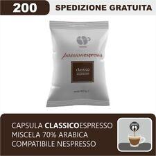 200 CAPSULE COMPATIBILI NESPRESSO CAFFE' LOLLO MISCELA CLASSICA